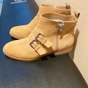 Micheal Kors Suede Leather Ankle Bootie